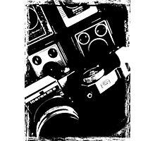 Vintage Cameras Photographic Print