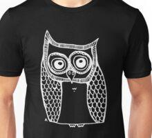 Owl number 10 - white Unisex T-Shirt
