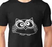 Owl number 13 - white Unisex T-Shirt