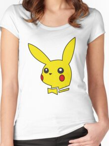 pokemon bunny Women's Fitted Scoop T-Shirt
