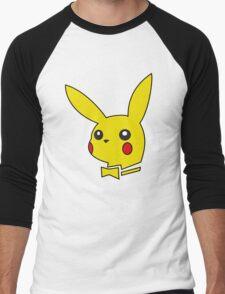 pokemon bunny Men's Baseball ¾ T-Shirt