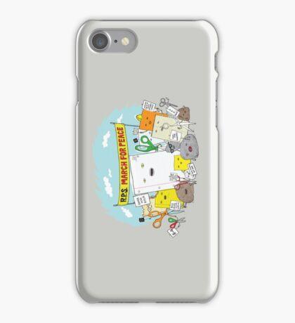 Paper Hugs Rock iPhone Case/Skin