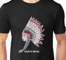 Injun Swag (White Lettering best on dark colored shirt) Unisex T-Shirt
