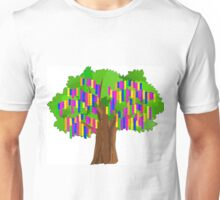 Mardi Gras Tree Unisex T-Shirt