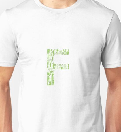 Font Fashion F Unisex T-Shirt