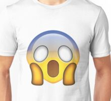 Shocked face emoji Unisex T-Shirt