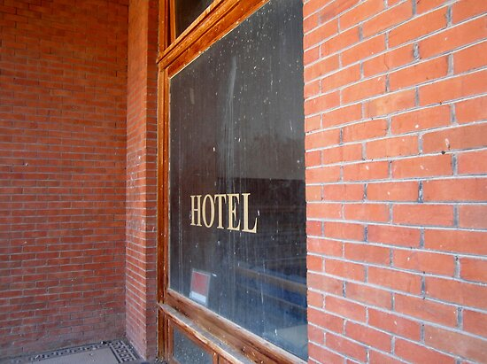 Haunted Goldfield Nevada Hotel - The Ghost by marilyn diaz
