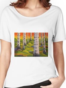Spring Forest Women's Relaxed Fit T-Shirt