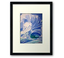 The Wedge Framed Print
