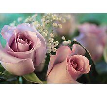 Moon Fleur ~ Luna Rose Photographic Print