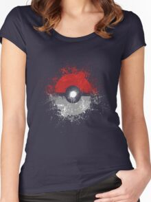Poke'ball Women's Fitted Scoop T-Shirt