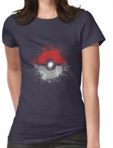 Poke'ball Womens Fitted T-Shirt