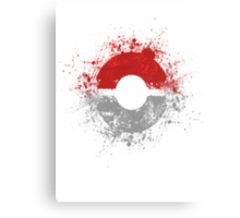 Poke'ball Canvas Print