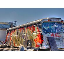 Graffiti Bus Photographic Print