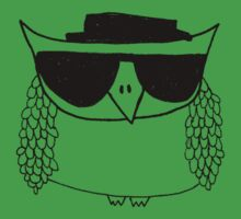 Heisenberg, the owl Kids Clothes