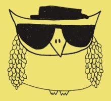 Heisenberg, the owl Kids Clothes