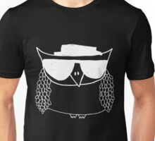 Heisenberg, the owl -white Unisex T-Shirt