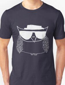 Heisenberg, the owl -white Unisex T-Shirt