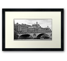 """On the Seine"" Framed Print"