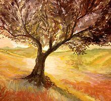 Impressionistic Landscape by codyvandezande
