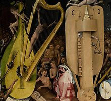 Hieronymus Bosch - Garden of Earthly Delights - Detail #4a by Chunga