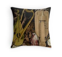 Hieronymus Bosch - Garden of Earthly Delights - Detail #4a Throw Pillow