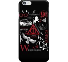 Harry Potter Madness (White/RedVersion) iPhone Case/Skin