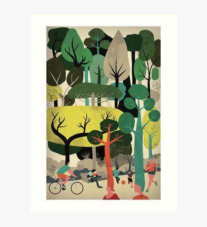 We are Trees Art Print