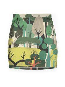 We are Trees Mini Skirt