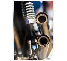 Twin Exhausts Poster