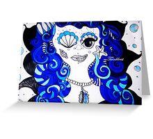 Bluemaid- 2014  Greeting Card