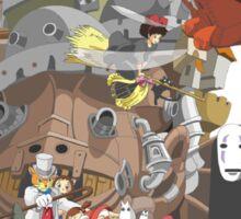 Studio Ghibli Characters Sticker
