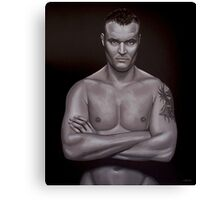 Semmy Schilt painting Canvas Print