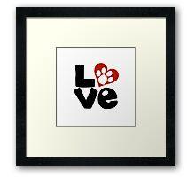 Animal Lover Framed Print