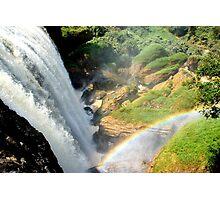Rainbow Waterfall Photographic Print