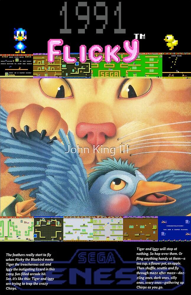 Flicky 1991 by John King III