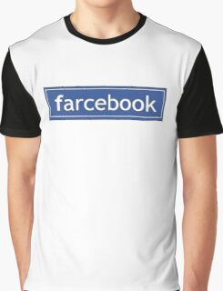 Farcebook Graphic T-Shirt