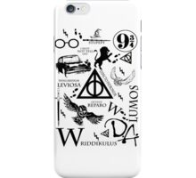 Harry Potter Madness (BlackVersion) iPhone Case/Skin
