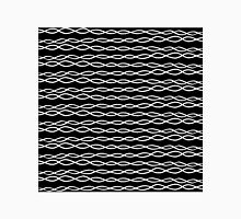 Simple Modern Black & White Swirly Stripes Classic T-Shirt