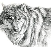 Wolf g2012-031 by schukina by schukinart