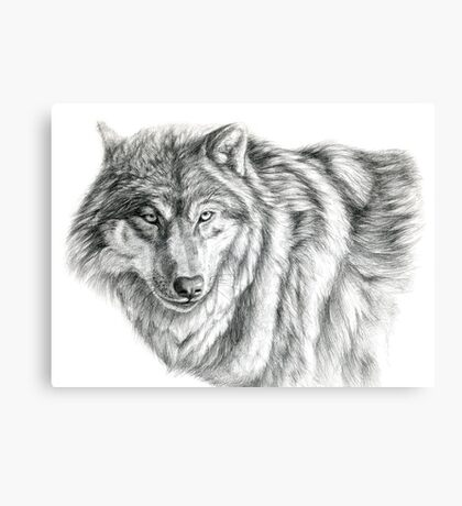 Wolf g2012-031 by schukina Canvas Print