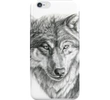 Wolf g2012-031 by schukina iPhone Case/Skin
