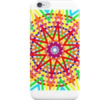 Small rainbow star iPhone Case/Skin