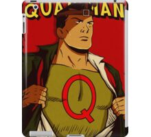 It's A Bird... It's A Plane... It's Quailman! iPad Case/Skin