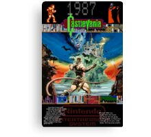 Castlevania 1987 Canvas Print