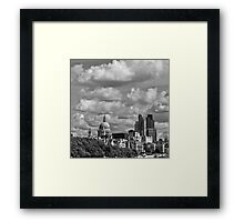 London's Architectural Medley Framed Print