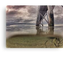 Water level  Canvas Print
