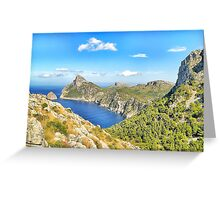Formentor Greeting Card