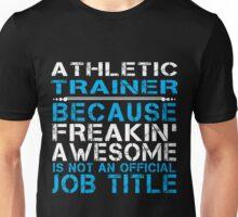 Athletic Trainer Proud Unisex T-Shirt