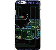 Refit Constitution Class MSD iPhone Case/Skin